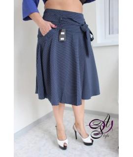 Классическая юбка клеш
